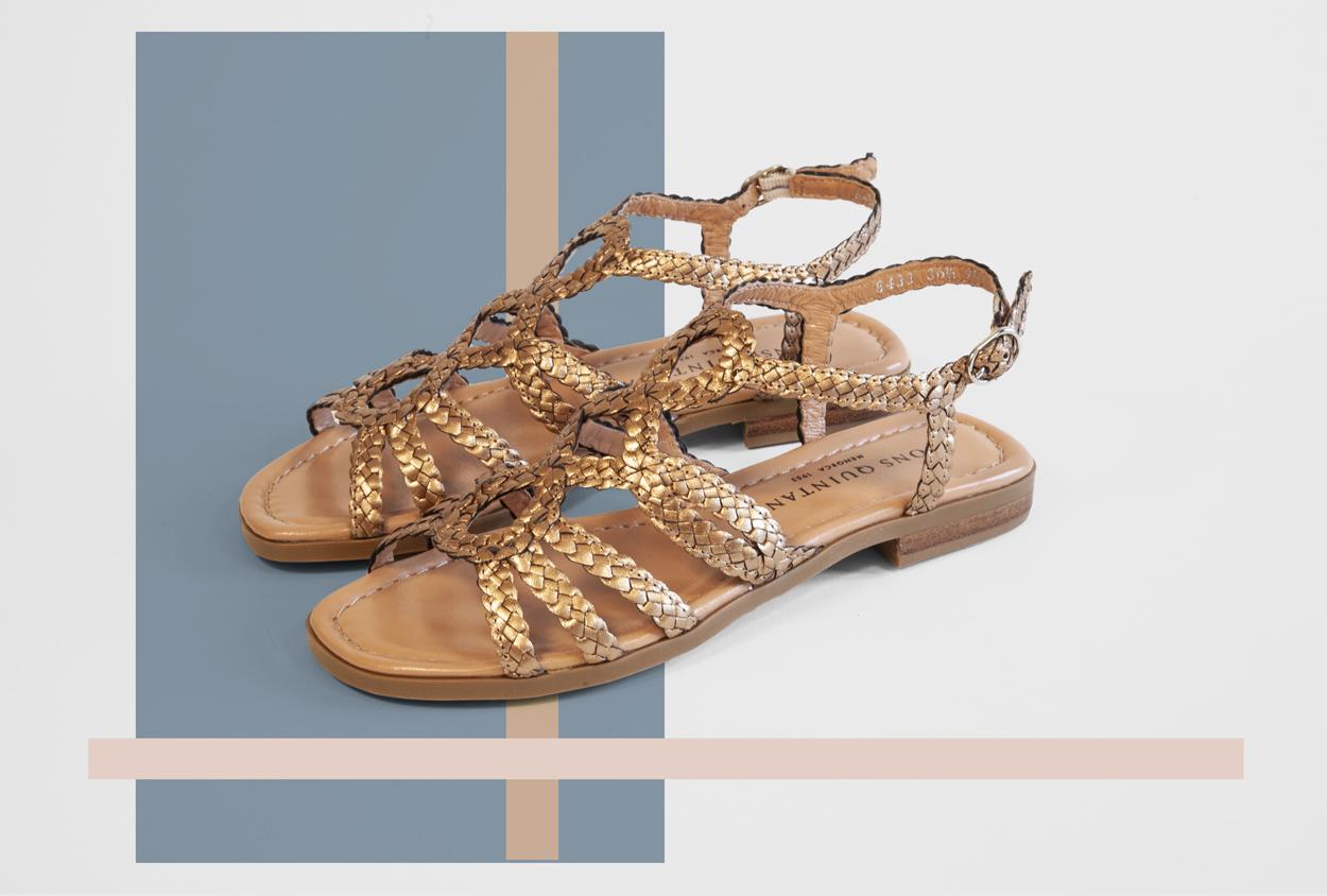 Sandale-platte-Chaussures-Italie-Boutique-Coup-de-Soleil-Geneve